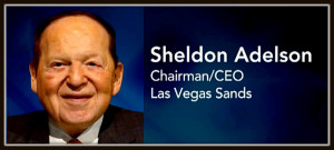 Sheldon Adelson Billionaire Jew