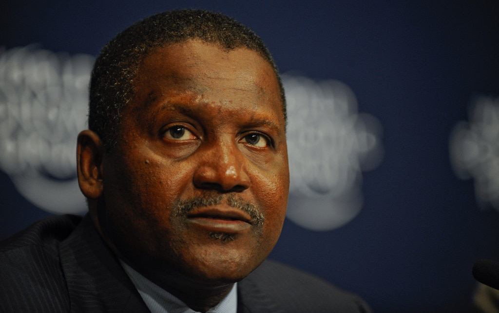 Aliko Dangote Nigerian Billionaire Businessman
