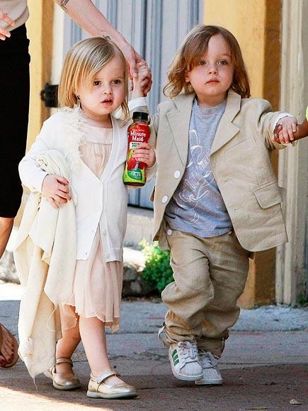 Knox and Vivienne Jolie Pitt-Richest Kids